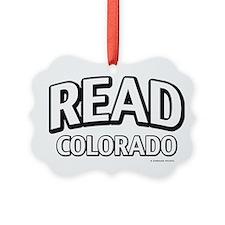Read Colorado Ornament