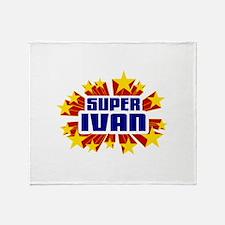 Ivan the Super Hero Throw Blanket