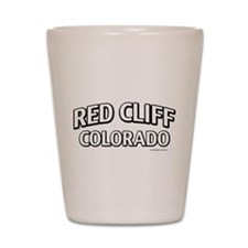 Red Cliff Colorado Shot Glass