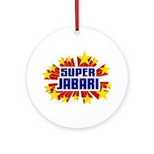 Jabari the Super Hero Ornament (Round)