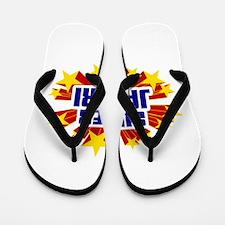 Jabari the Super Hero Flip Flops