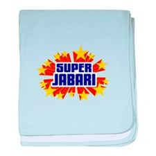 Jabari the Super Hero baby blanket