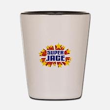 Jace the Super Hero Shot Glass