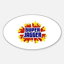 Jagger the Super Hero Decal