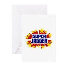 Jagger the Super Hero Greeting Cards (Pk of 10)