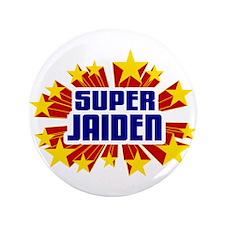 """Jaiden the Super Hero 3.5"""" Button"""