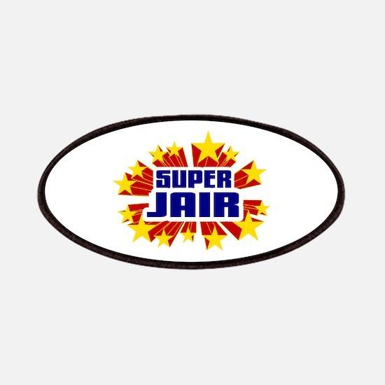 Jair the Super Hero Patches