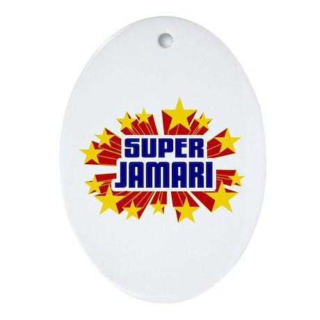 Jamari the Super Hero Ornament (Oval)