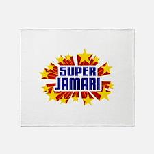 Jamari the Super Hero Throw Blanket