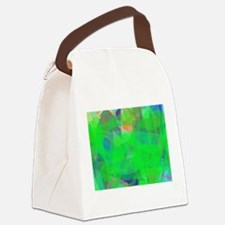 Green Canvas Lunch Bag