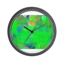 Green Wall Clock