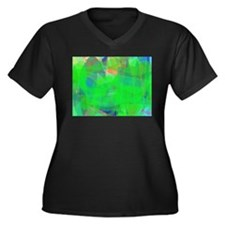 Green Plus Size T-Shirt