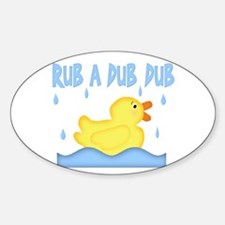 Yellow Rubber Ducky Decal