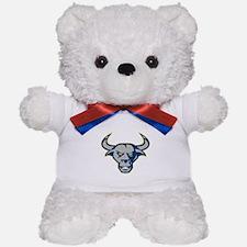Texas Longhorn Bull Head Front Teddy Bear