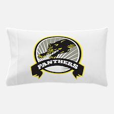 Panther Big Cat Growling Pillow Case