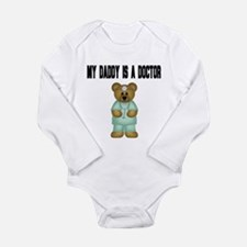 My Daddy Is A Doctor Long Sleeve Infant Bodysuit