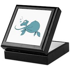 Underwater Dinosaur Keepsake Box