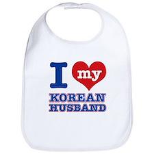 I love my Korean husband Bib