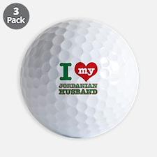 I love my Jordan husband Golf Ball