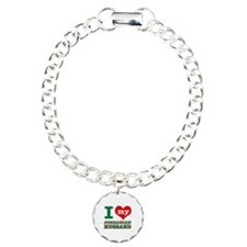 I love my Jordan husband Charm Bracelet, One Charm