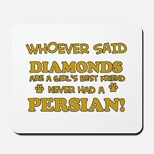 Persian Cat breed designs Mousepad