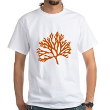 red sea fan coral drawing T-Shirt