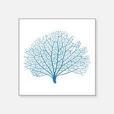blue sea fan coral Sticker