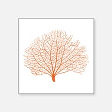 red sea fan coral Sticker