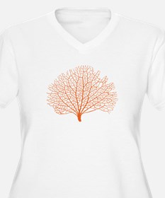 red sea fan coral Plus Size T-Shirt
