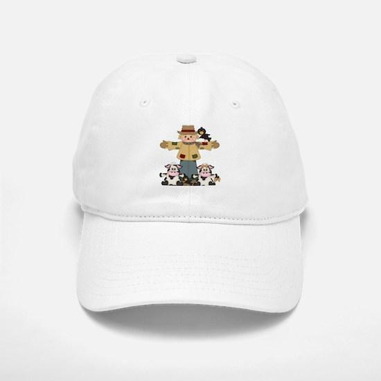 Fall design with Scarecrow Baseball Baseball Baseball Cap