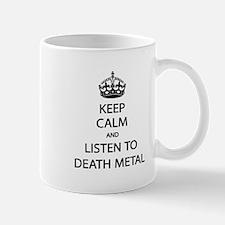 Keep Calm Listen to Death Metal Mug