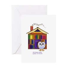 Dream Home - Library! Greeting Card