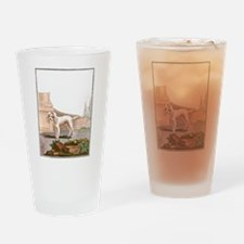 Dog (Small Barbet) Drinking Glass