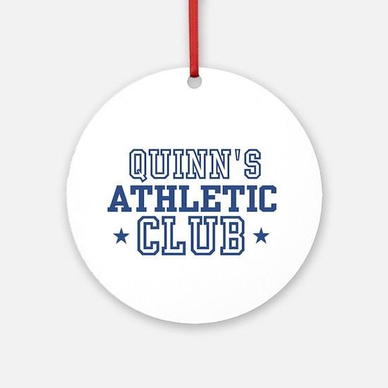Quinn Ornament (Round)