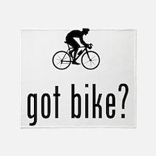 Bicycle Racer Throw Blanket