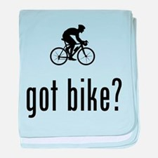 Bicycle Racer baby blanket