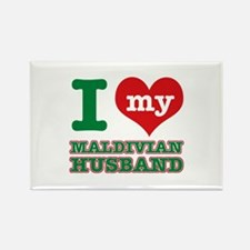 I love my Maldivian husband Rectangle Magnet