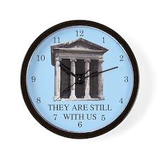 Roman Revival Wall Clock