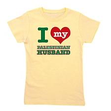 I love my Palestinian husband Girl's Tee