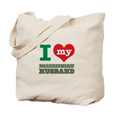I love my Palestinian husband Tote Bag