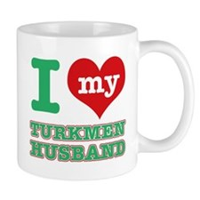 I love my Turkmen husband Mug