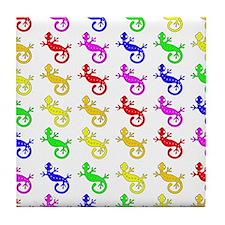 Gecko Crazy Tile Coaster