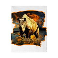rhinoceros Twin Duvet