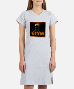 war of the worlds Women's Nightshirt