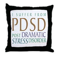 Post Dramatic Stress Disorder Throw Pillow