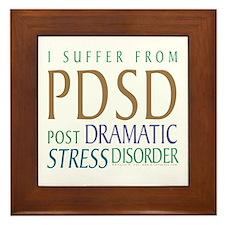 Post Dramatic Stress Disorder Framed Tile