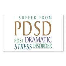 Post Dramatic Stress Disorder Decal