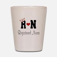 Registered Nurse (RN) Shot Glass