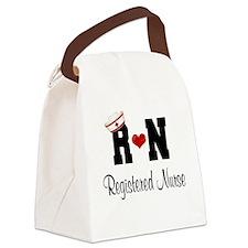 Registered Nurse (RN) Canvas Lunch Bag
