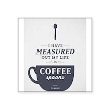 Coffee Spoons Sticker